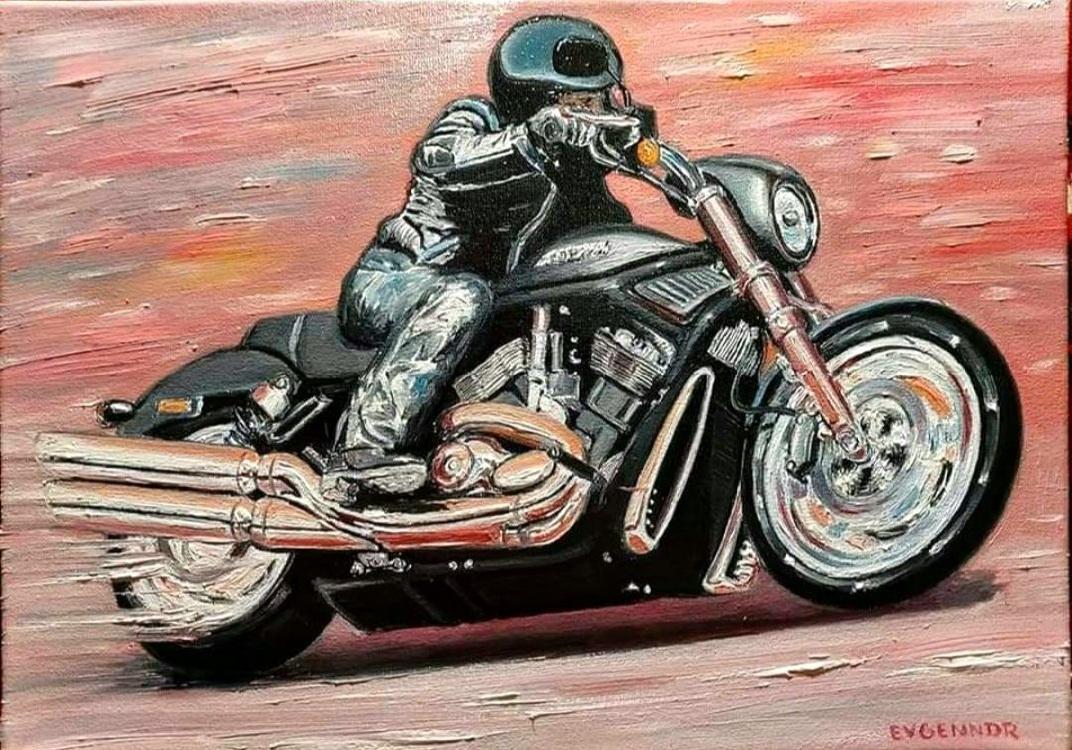 "Aviation Art. ""Harley"""