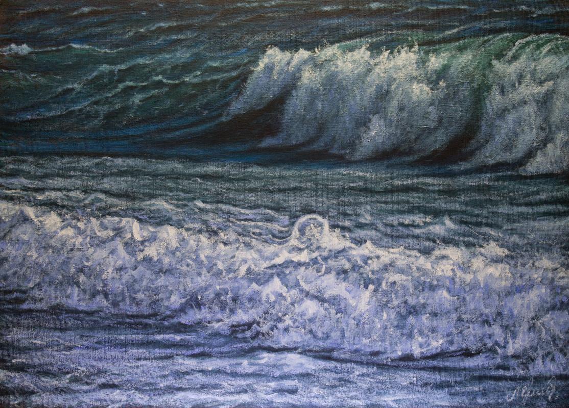 Valery Levchenko. № 584 Seascape.