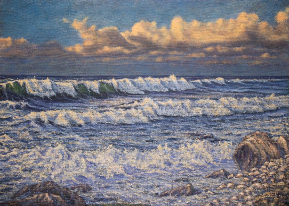 Valery Levchenko. No. 481 Seascape.