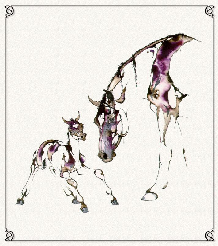 С. Л. Ричардс. Лошадь 8