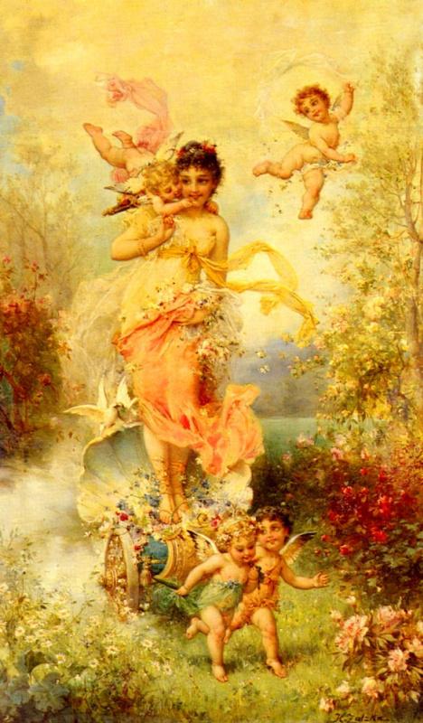 Ханс Затска. Богиня весны