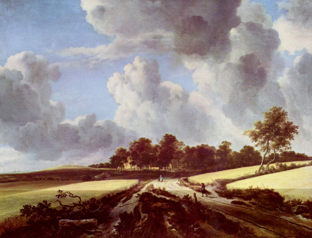 Якоб Исаакс ван Рейсдал. Пшеничное поле