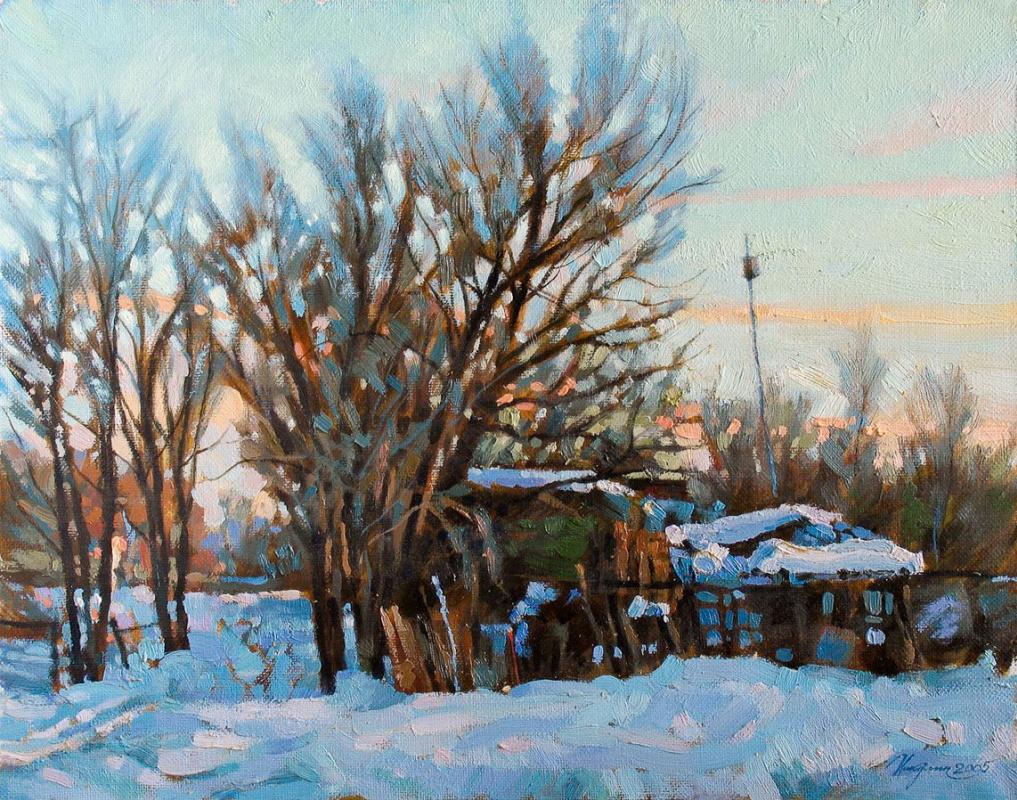 Sergei Nikulin. The spring