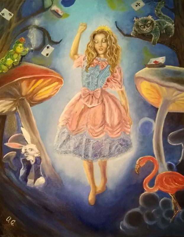 """Olga Pavlovna Georgieva. """"Alice in Wonderland"""""""