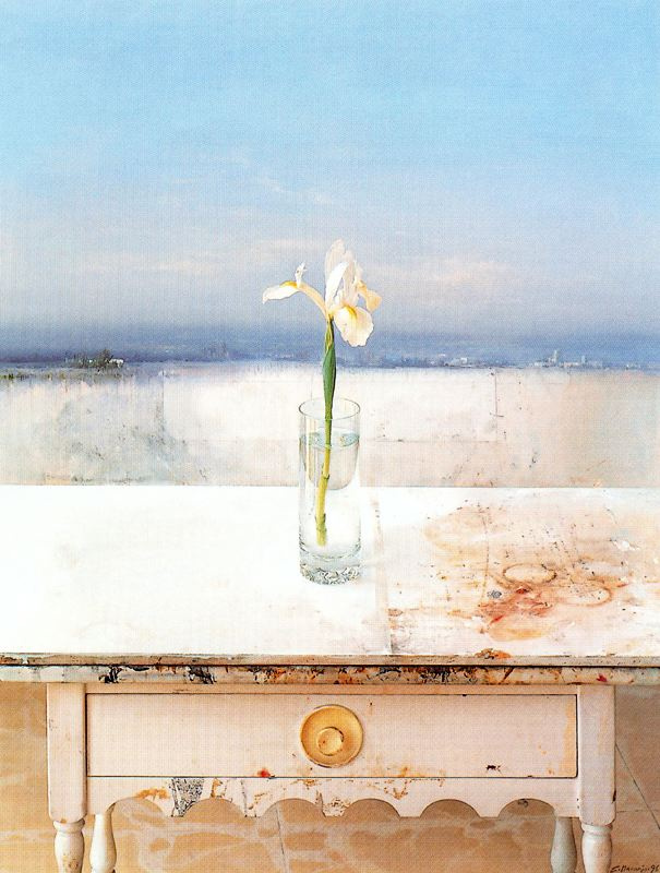 Эдуардо Наранхо. Цветок на столе