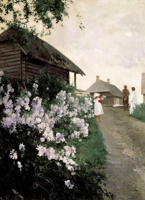 Андрей Николаевич Шильдер. Дача в Финляндии