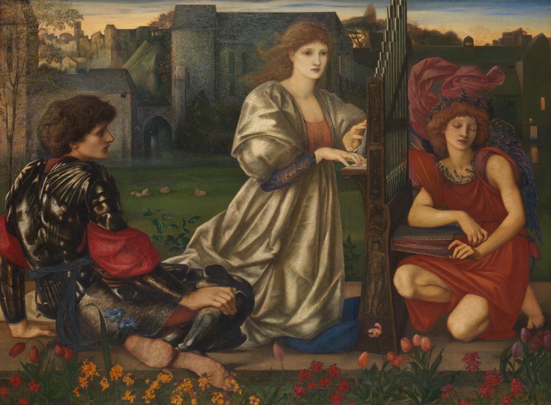 Edward Coley Burne-Jones. Love song
