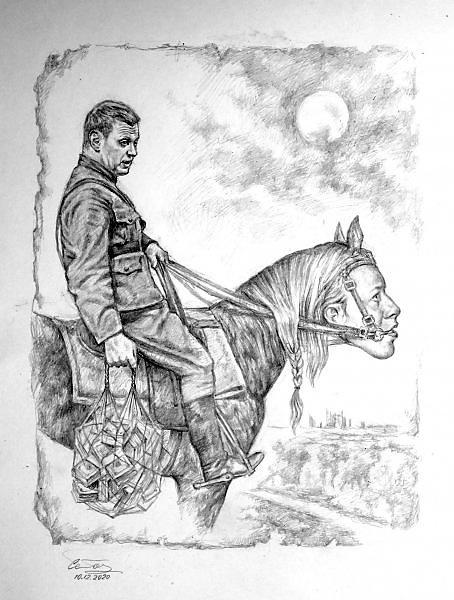 Alexander Petrovich Botvinov. Тимофей Кондратьевич Квасцов на Воробьёвых Горах