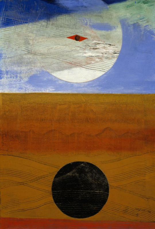 Max Ernst. The sea and the sun
