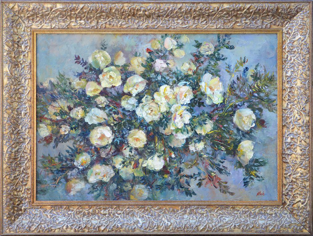 Олег Курашов. Delicate flowers