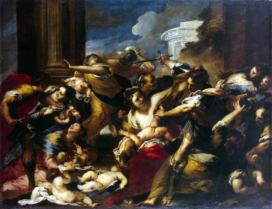 Валерио Кастелло. Избиение младенцев