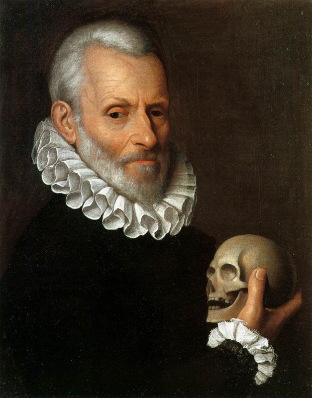 Fede Galicia. Portrait of a doctor