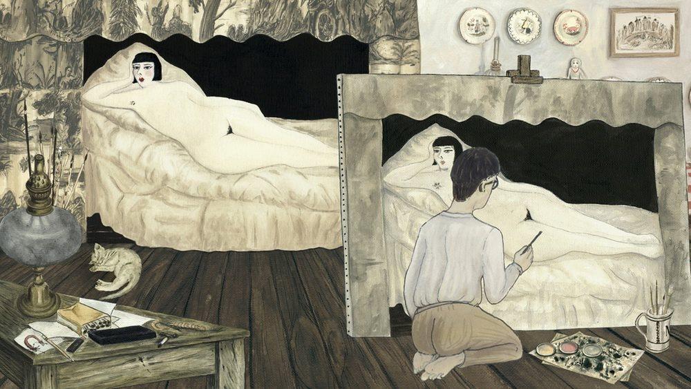 Tsuguharu Foujita (Léonard Fujita). Kiki