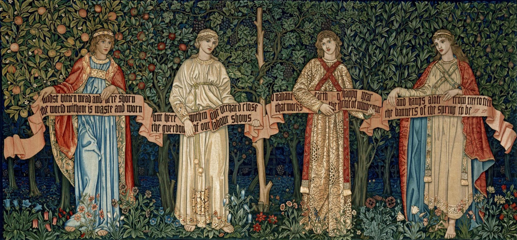 Уильям Моррис. Фруктовый сад