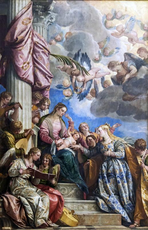 Паоло Веронезе. Мистическое обручение Святой Екатерины