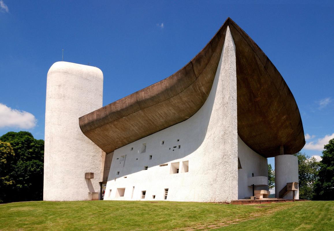 Le Corbusier. Chapel of Notre-Dame-du-O