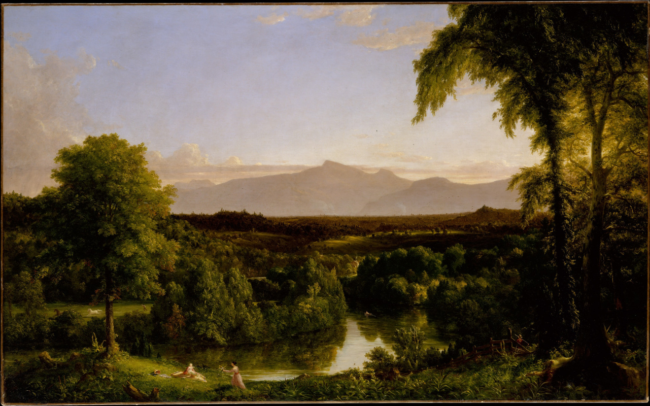 Thomas Cole. View on the Catskill — Early Autumn