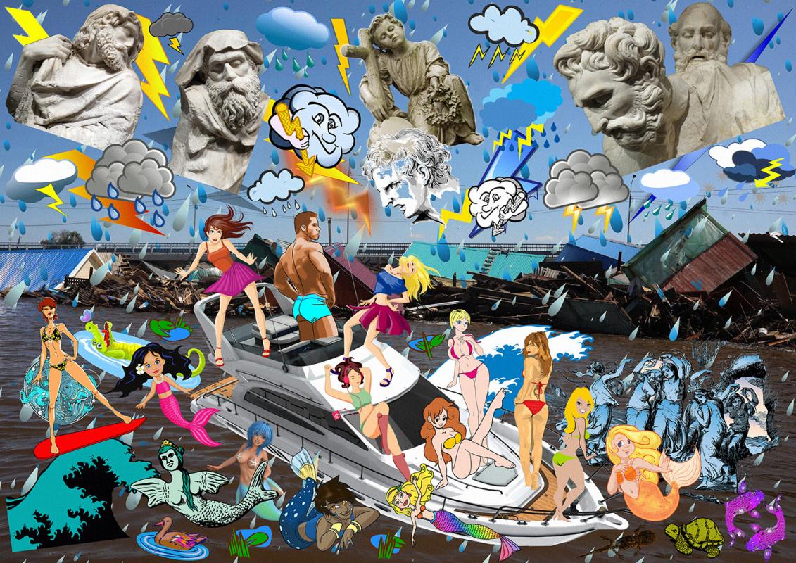 Random Human. Noah's Ark or Wrath of the Gods