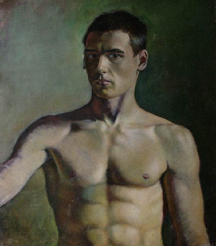Daniil Litvinov. Автопортрет в юности