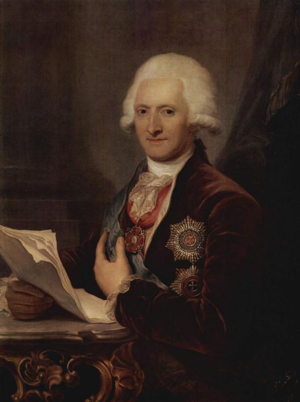 Жозеф Грасси. Портрет графа Якоба Сиверса