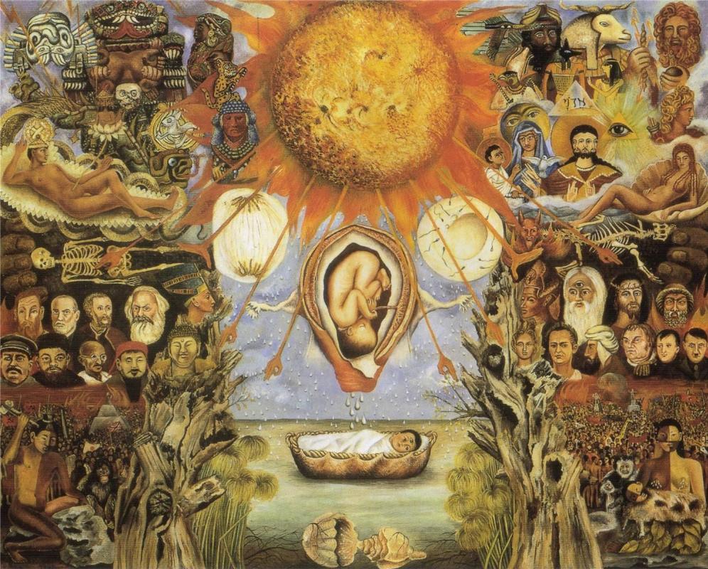 Frida Kahlo. Moses