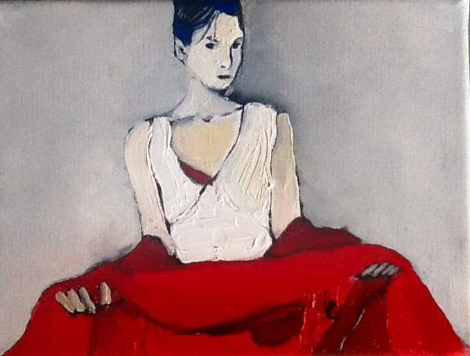 Olga Grig. Connection with red
