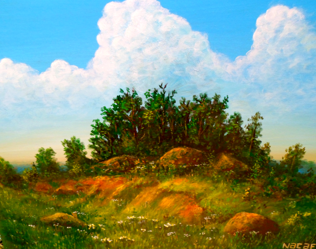Najaf Mamedali oglu Mamedov. Golden meadow