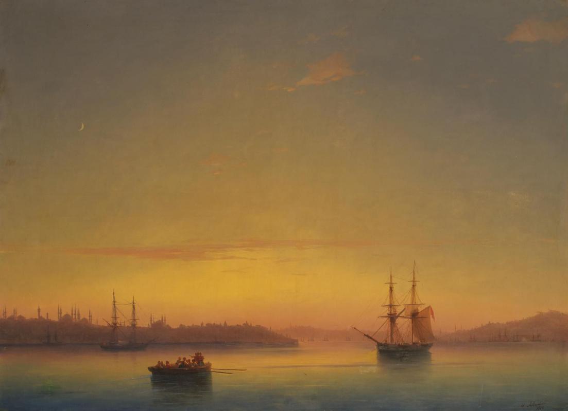 Ivan Aivazovsky. Constantinople at dawn