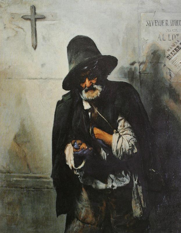 Pavel Petrovich Chistyakov. Roman beggar