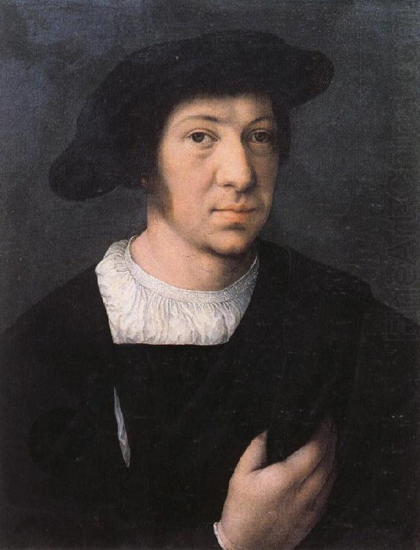 Бернард ван Орлей. Мужчина в черной шляпе