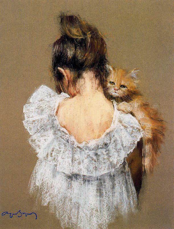 Cayetano de Archer Buigas. Red cat