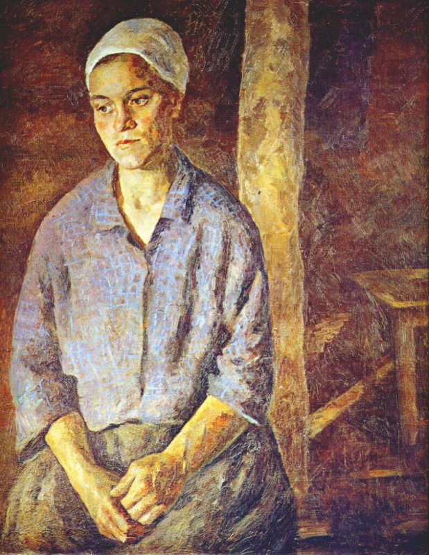 Роберт Рафаилович Фальк. Работница
