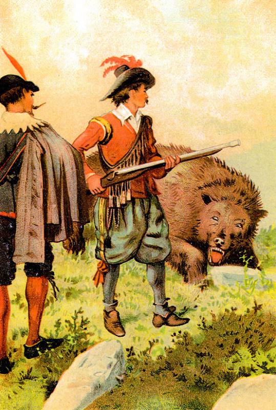 Томас Вейк. Медвежья шкура