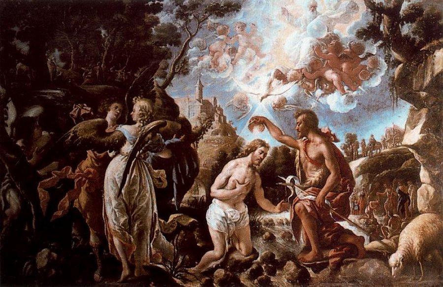 Juan de Pareja. Baptism of Christ