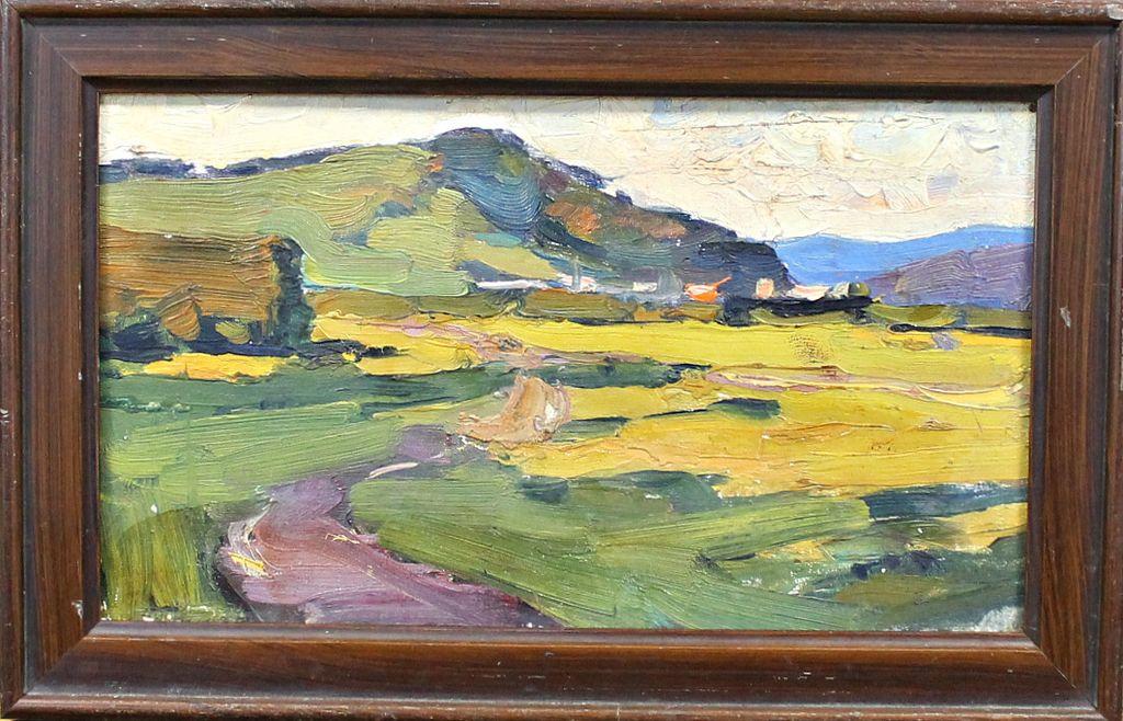 Leonard (Leonid) Victorovich Turzhansky. Summer Landscape