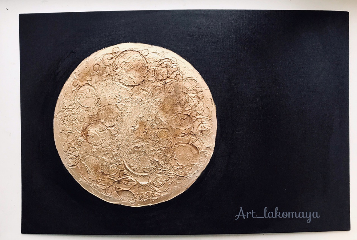 Olga Lakomaya. Moon