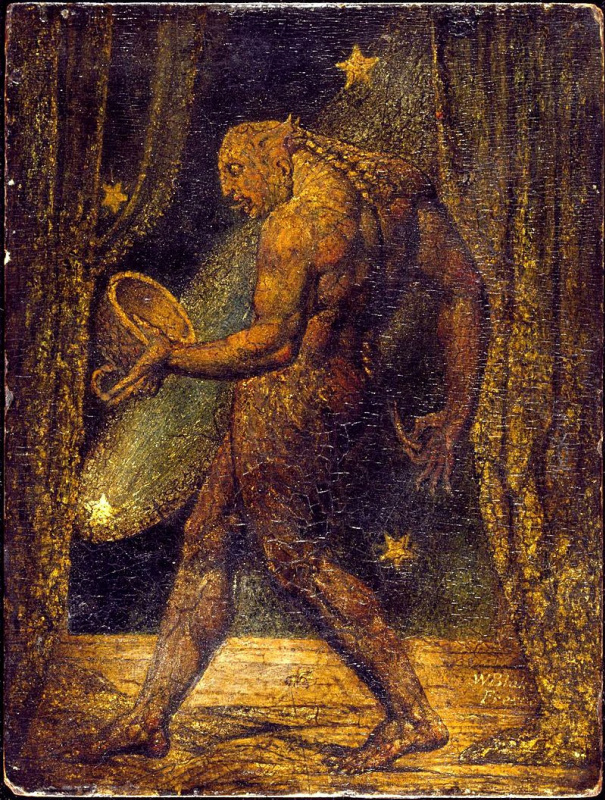 William Blake. The Ghost Of A Flea