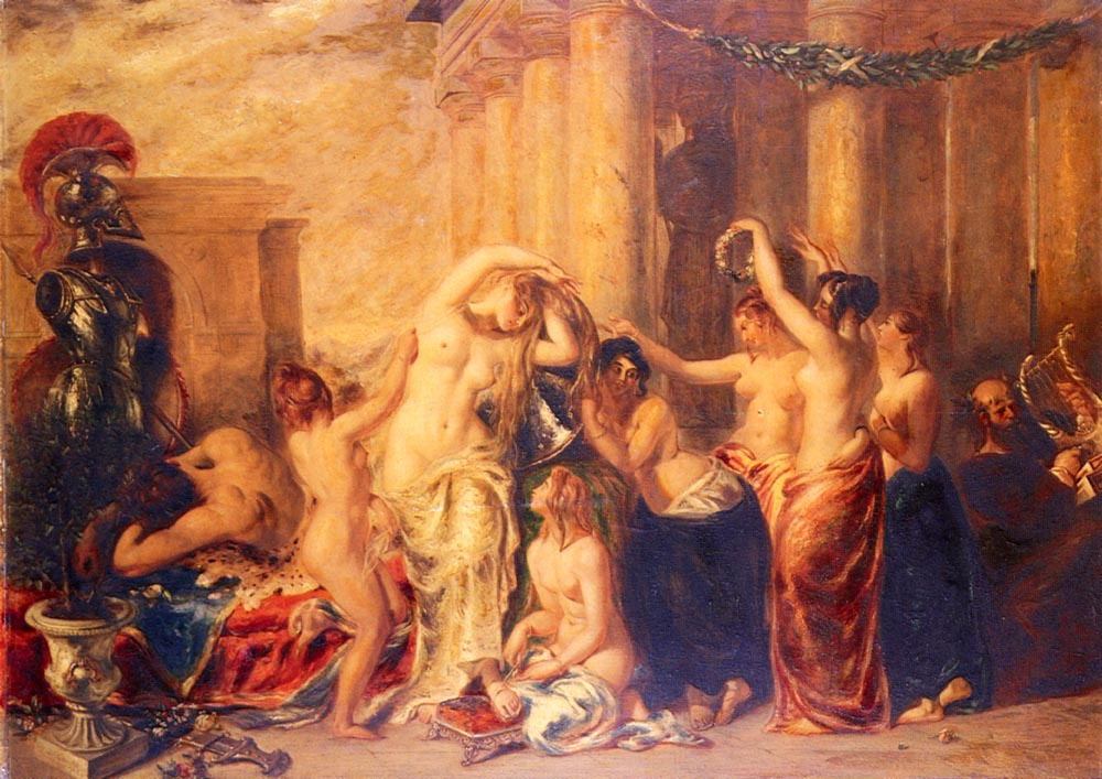 Уильям Этти. Венера и ее спутницы