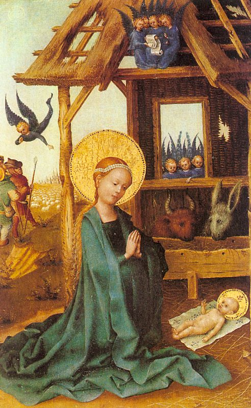 Stefan Lochner. The Birth Of The Saviour