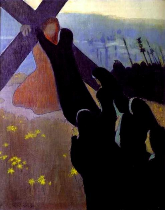 Maurice Denis. The way to Calvary