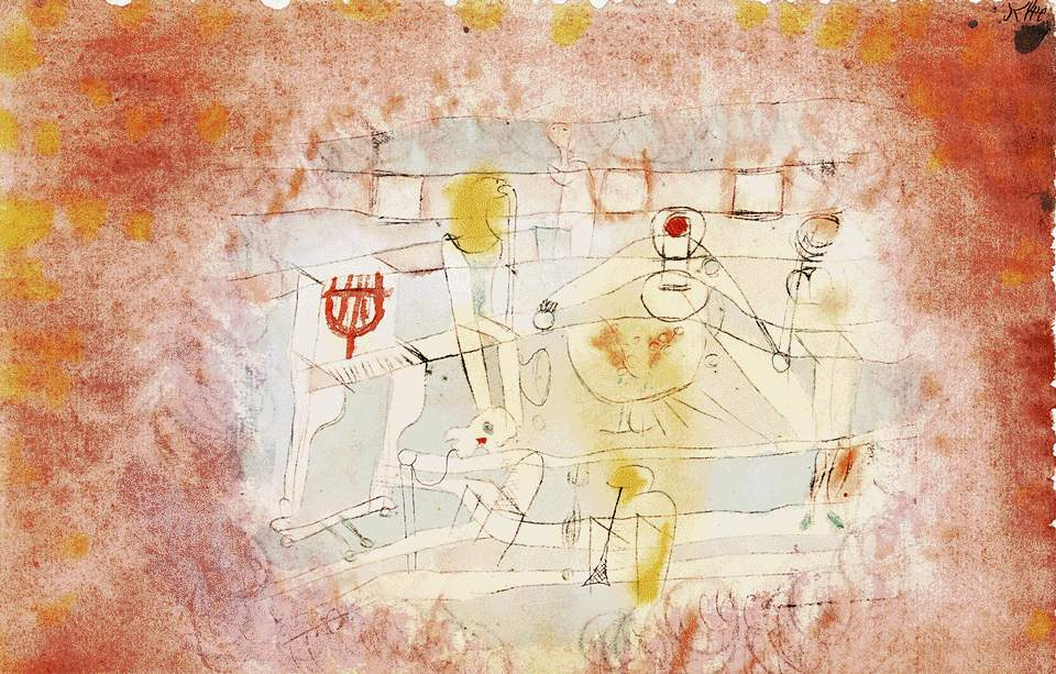 Paul Klee. Bad orchestra
