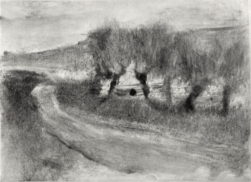 Edgar Degas. Willow