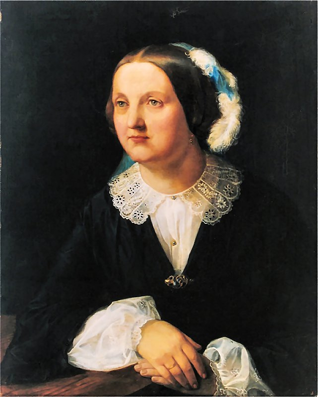 Jan Matejko. Portrait of Polina Dzhibultovskaya