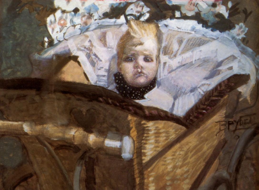 Михаил Александрович Врубель. Портрет сына художника