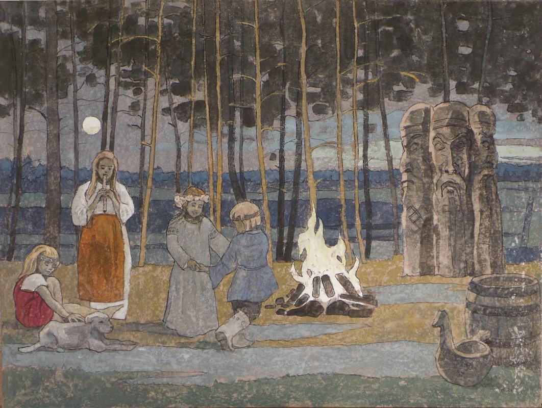 VALERIY VLADIMIROVICH KOMAROV. AND THIS WORLD, UNDER SEVERE STRICTLY, PAGAN GODS KEEP ...