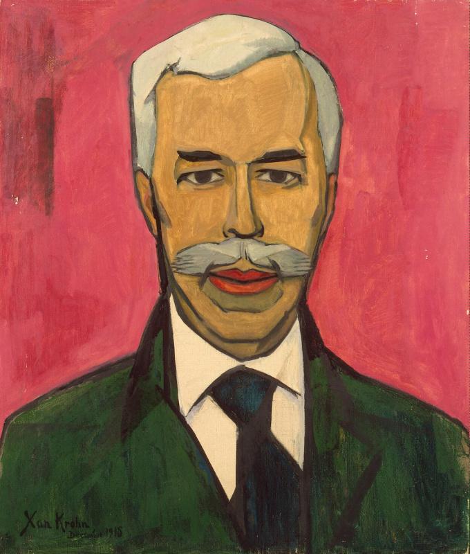 Портрет Щукина