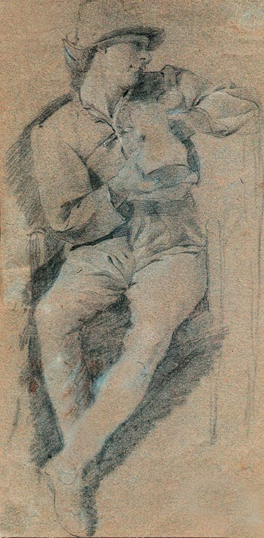 Jan Steen. Male figure with a mug