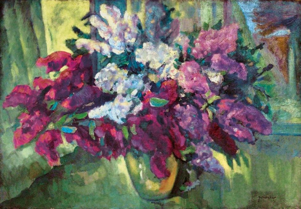 Adalbert Adalbertovich Boretsky. Lilac
