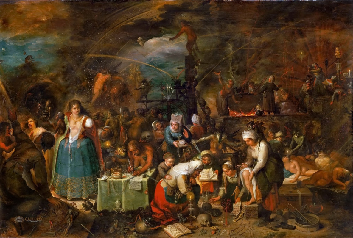 Франс Франкен Младший. Шабаш ведьм. 1607