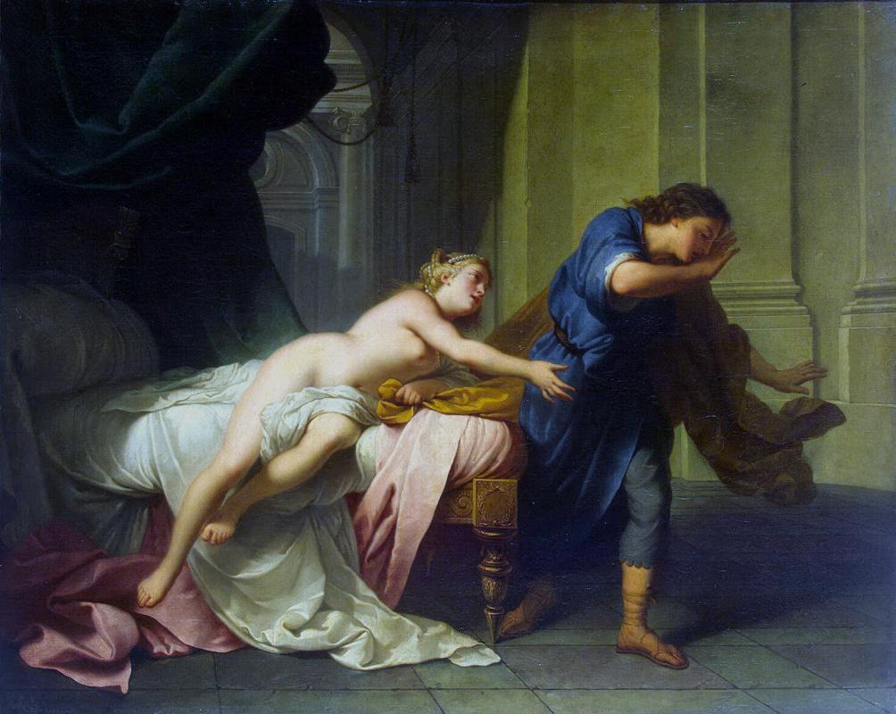 Жан-Батист Натье. Иосиф и жена Потифара